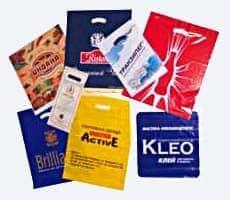 Полиэтиленовые пакеты с вырубными ручками